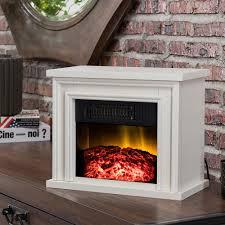 13 5 in desktop electric fireplace