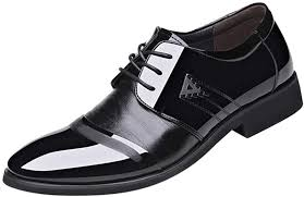 mens patent leather tuxedo dress shoes