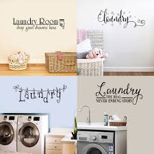 Multiple Styles Laundry Washing Room Wall Sticker Bubble Vinyl Quotes Decals Mural Art Wallpaper Lettering Home Decorative Wall Stickers Aliexpress
