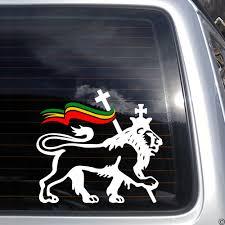 King Of Kings Lion Vinyl Decal 8x8 Judah Reggae Bob Marley Dub Rasta Ziggy K328 For Sale Online Ebay