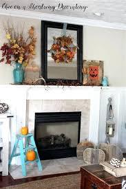 farmhouse fireplace decor mantel