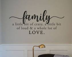 Family Wall Decals Etsy