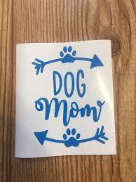 Dog Mom Arrows Pawprints Vinyl Decal Sticker Car Decal Yeti Sticker Water Bottle Sticker Dog Lover Customize Fur Mom Dog Mama Yeti Stickers Vinyl Decals Custom Vinyl Stickers