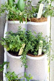 Hanging Herb Garden Diy And Benefits The Country Chic Cottage