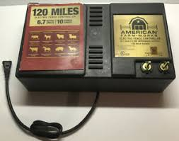 American Farmworks Electric Fence Controller 120 Mile 6 7 Joule Low Impedance Ebay