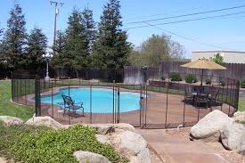 Brown Swimming Pool Fences Baby Guard Pool Fence