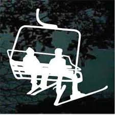 Snow Skiing Car Decals Stickers Decal Junky