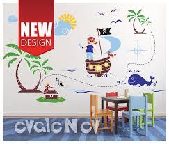 Pirates Wall Decals Kids Wall Decals Children Wall Etsy Kids Wall Decals Nursery Wall Decals Wall Decals
