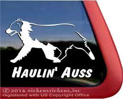 Haulin Auss Australian Shepherd Dog Decals Stickers Nickerstickers