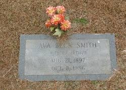Ava Beck Smith (1897-1986) - Find A Grave Memorial