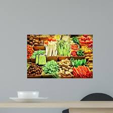 Vegetables In Baskets Wall Decal Wallmonkeys Com