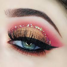glitter makeup tutorials and ideas