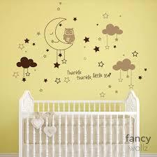 Name Wall Decal Boy Cloud Nursery Name Wall Decal Moon And Stars Decal Baby Boy Nursery Decor Moon And Stars Wall Decal Wall Stickers Aliexpress