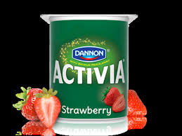 activia light strawberry nutrition