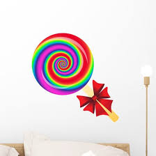 Lollipop Wall Decal Wallmonkeys Com
