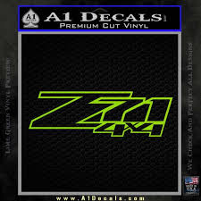 Z71 Off Road 4x4 Chevy Dh A1 Decals