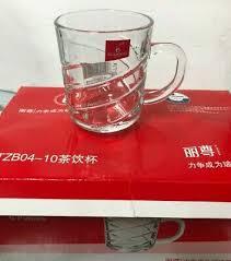 turkish tea glass cups set of 6 clear