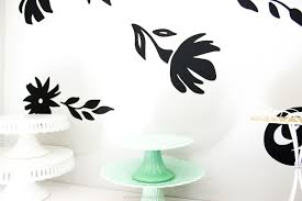 Gigantic Floral Vinyl Wall Decals Printable Crush