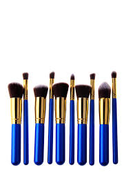 professional 10 piece kabuki brush set
