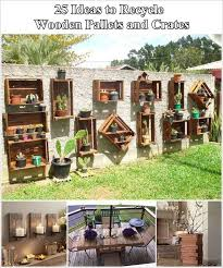 25 amazing ideas to recycle wooden