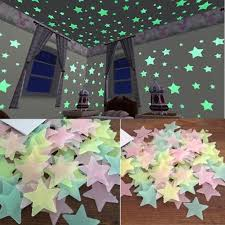 Glow In The Dark Stars Wall Stickers For Kids Rooms Decal Baby Bedroom Home Decor Luminous Fluorescent Stars Wallpaper D19011702 Mario Wall Stickers Mirror Wall Decals From Mingjing01 22 77 Dhgate Com