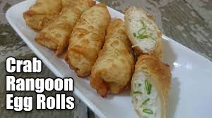 Crab Rangoon Egg Rolls Recipe
