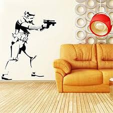 Star Wars Stormtrooper Wall Art Vinyl Decal Sticker Kid Room Decor 28 X35 By Silhouettes Society Ttduwtxc 67