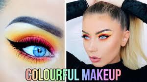 colorful makeup tutorial you