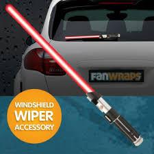Darth Vader Lightsaber Windshield Wiper Accessory Fanwraps