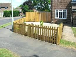small fences for front yards missnice