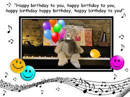 musical birthday wishes