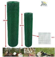 Green Pvc Coated Welded Mesh Fence Wire For Garden Fencing Guard Barri Giftenza
