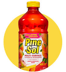 can i mop hardwood floors with pine sol