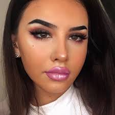 bratz doll inspired makeup is a thing