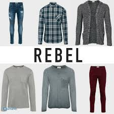 rebel men autumn winter collection
