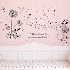 Decal Kids Bedroom Rustic Girly Magical Pink Cottage Fairy Door Wall Sticker