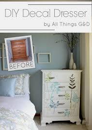 Diy Decal Dresser All Things G D