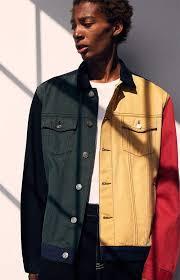 pacsun 90s colorblock denim jacket