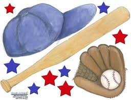 Baseball Sports Wall Stickers Old Time Baseball Themes Ideas
