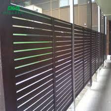 Aluminum Vertical Security Slat Fence Design View Aluminum Vertical Slat Fence Bld Product Details From Ballede Shanghai Metal Products Co Ltd On Alibaba Com
