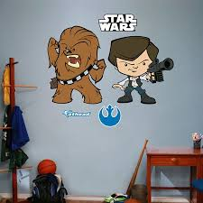 Fathead Star Wars Han Solo Chewbacca Pop Duo Walmart Com