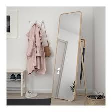 ikornnes floor mirror ash 20 1 2x65 3