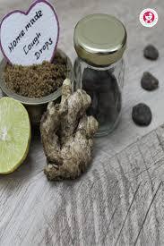 ginger lemon honey cough drops for kids