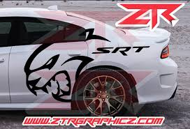 Dodge Charger Extra Large Srt Hellcat Quarter Panel Decals Ztr Graphicz