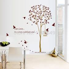 140 185cm Large Brown Family Tree Wall Decals Diy Decoration Fashion Wall Sticker Vinyl Adhesive Sticker Drop Shipping Family Tree Wall Decal Tree Wall Decalwall Decals Aliexpress