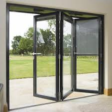 accordion style folding patio glass