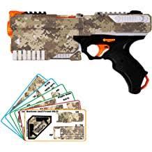 Blastr Wrapz Gun Not Included Kronos Sticker Decals For Nerf Xviii 500 1 Pack Custom Toy Blaster Vinyl Skin Upgrade Mod Kids Teens Adults Desert Digital Camo Buy Products Online
