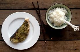 Grilled Swordfish Steak with a Pesto ...
