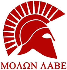 Amazon Com Molon Labe Come And Take Them Premium Quality Vinyl Decal Die Cut 6 Red Automotive