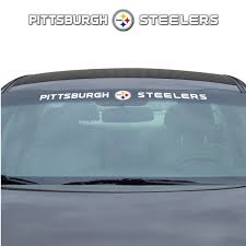 Nfl Pittsburgh Steelers Windshield Decal Fanmats Sports Licensing Solutions Llc